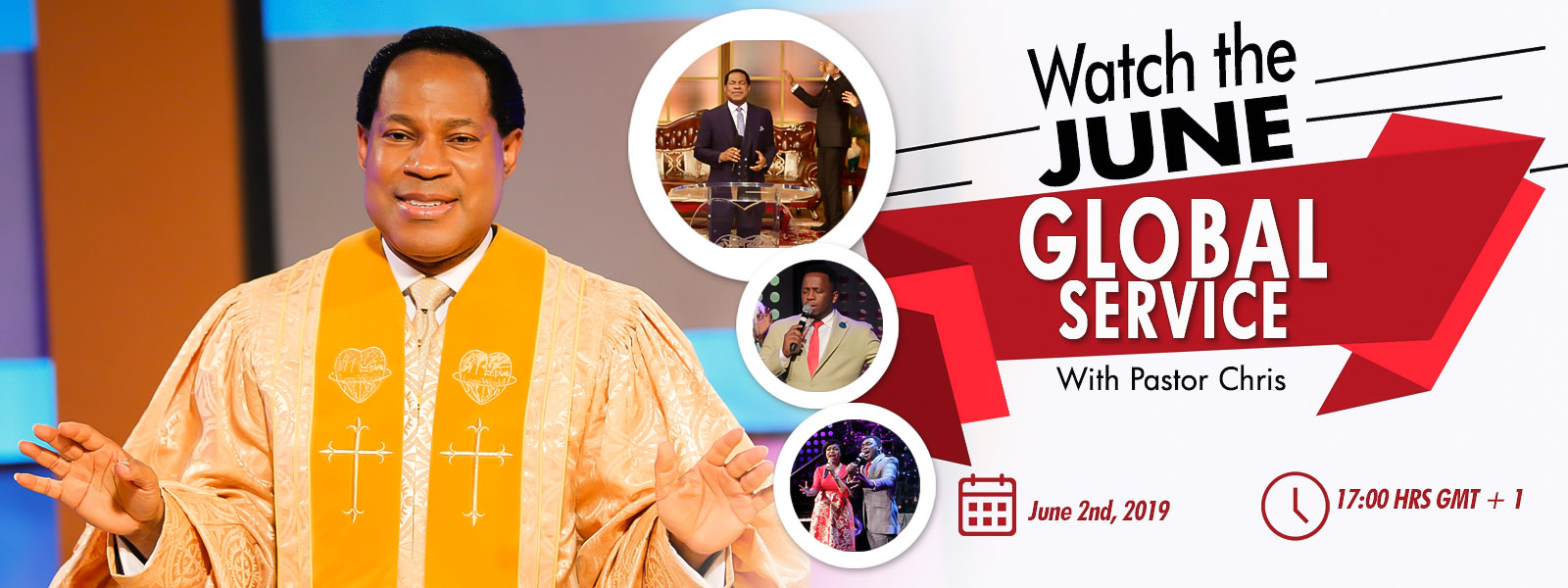 JUNE GLOBAL SERVICE WITH PASTOR CHRIS