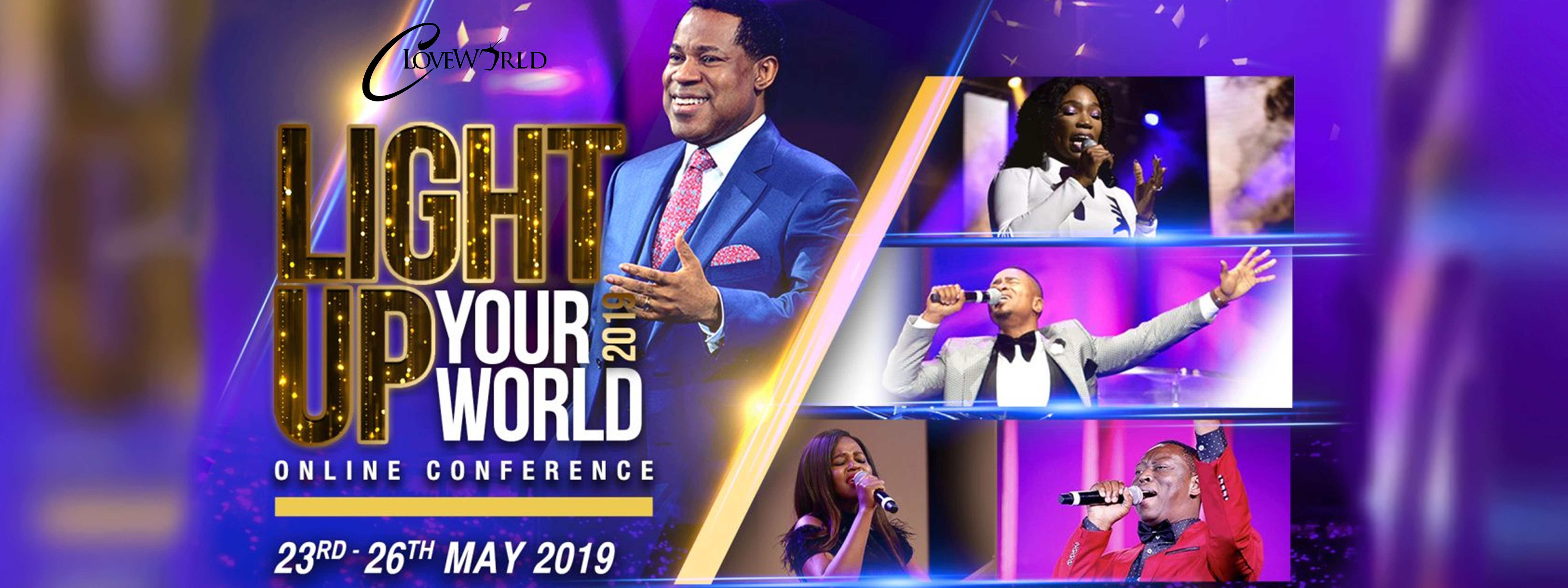 LIGHT UP YOUR WORLD ONLINE CONFERENCE